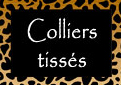 colliers tissés