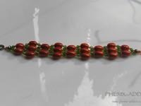 FEUX-FOLLETS : détail du bijou